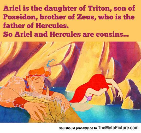 cool-Disney-Ariel-Hercules-Mermaid