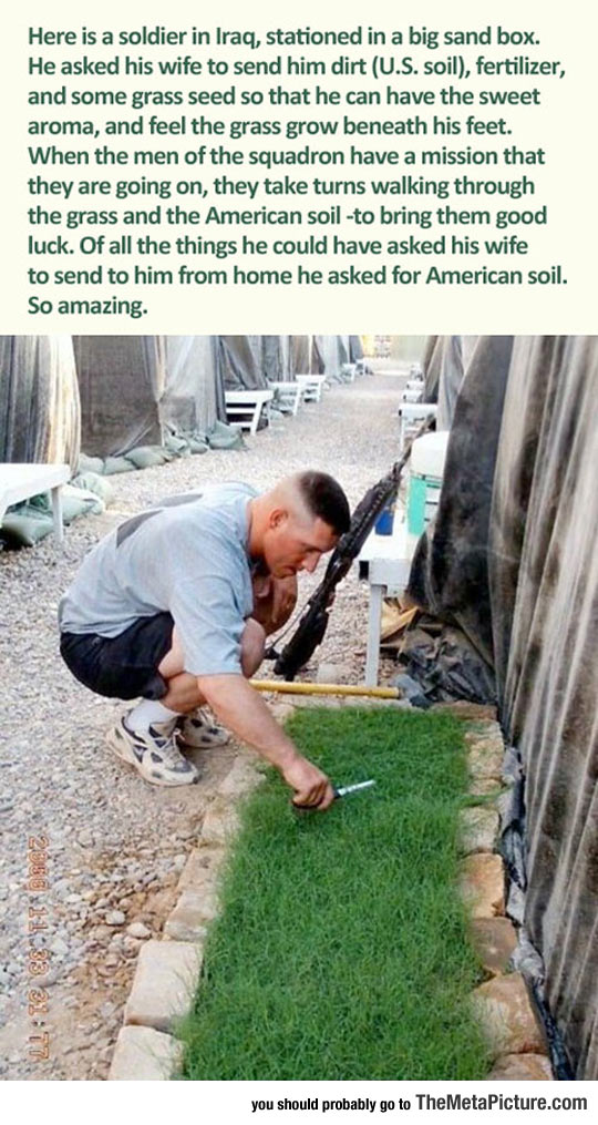Soil From His Country