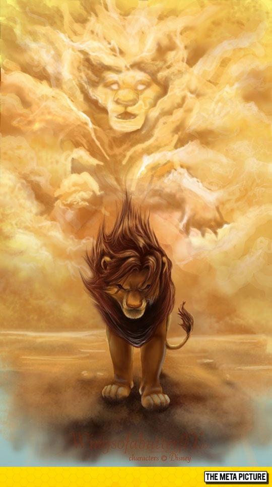 cool-Lion-King-Simba-Mufasa-art