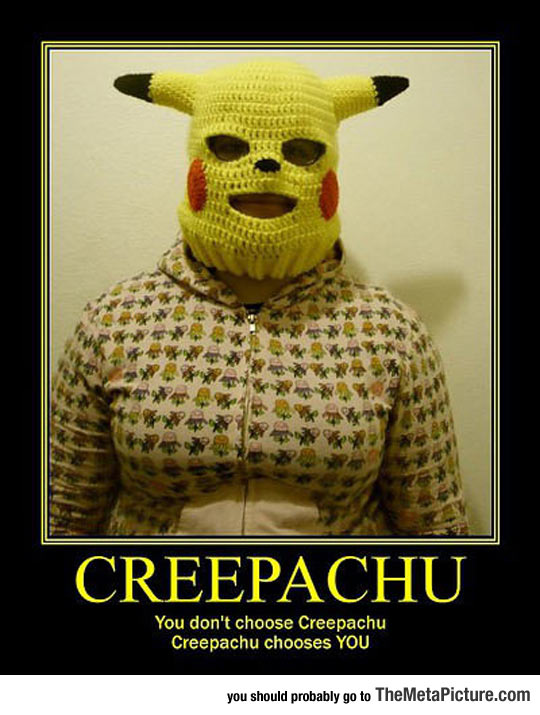 Creepachu Is A Little Scary