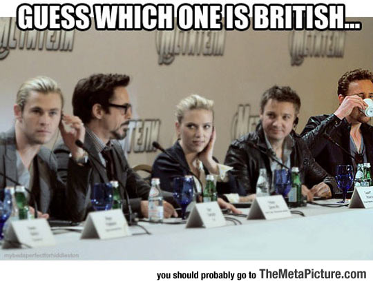 Try To Find The British Guy