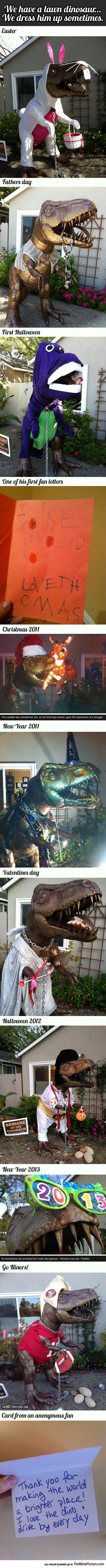 cool-dinosaur-sculpture-garden-costumes
