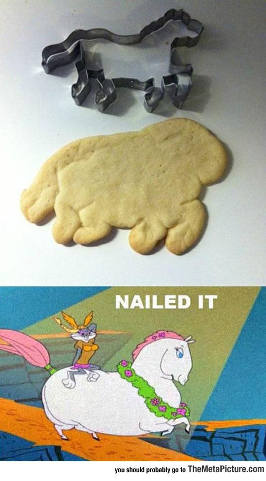 Baking Horse Cookies