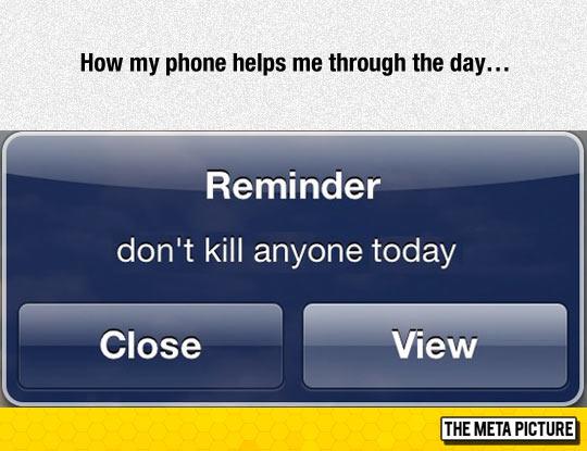 Daily Phone Reminder