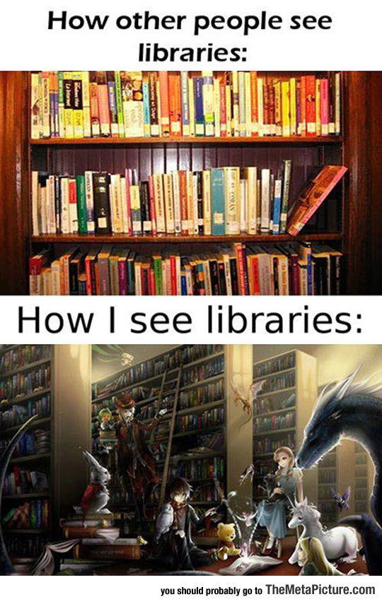 cool-library-perspective-book-characters