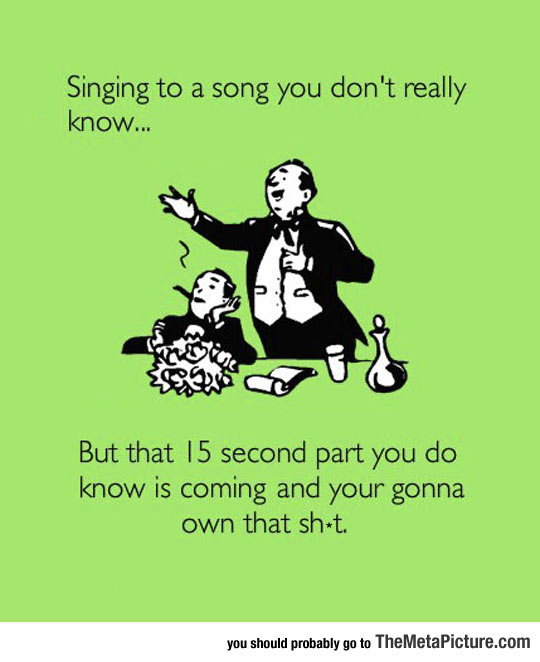 Trying To Sing A Song You Don
