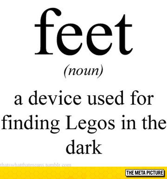 Proper Definition Of Feet