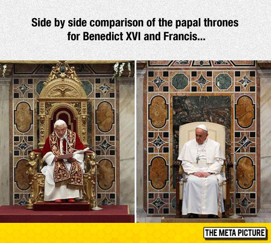cool-pope-Benedict-Francis-chair