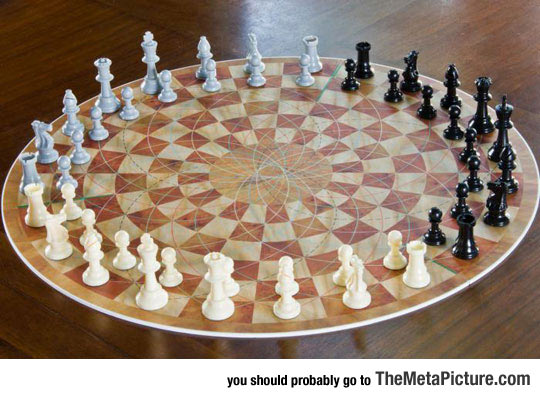 Just When You Thought Regular Chess Was Hard Enough