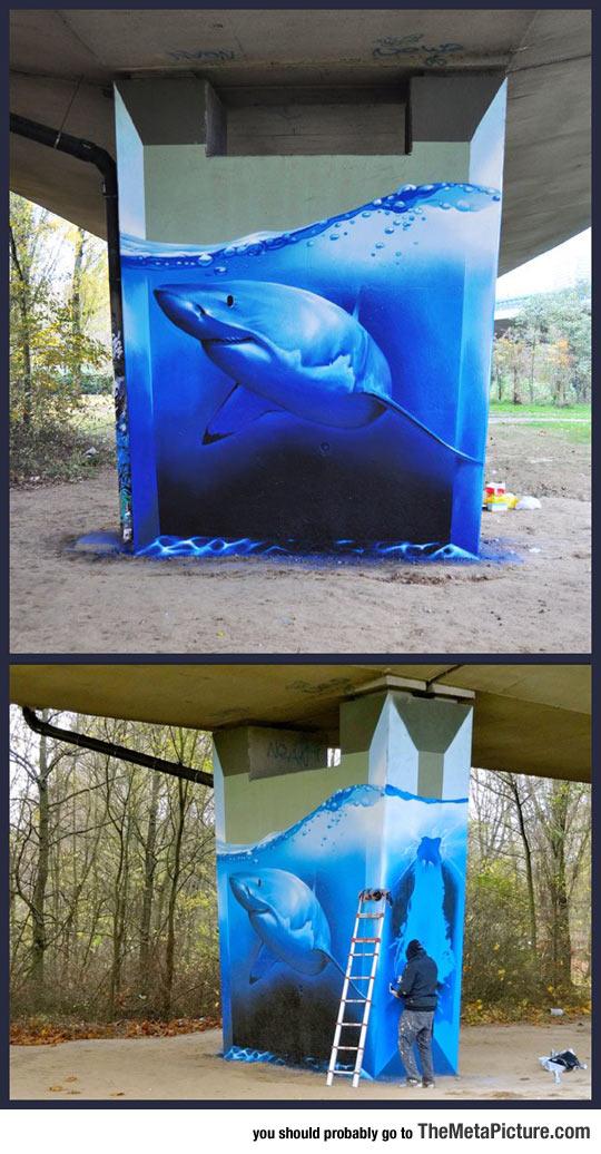 cool-shark-street-art