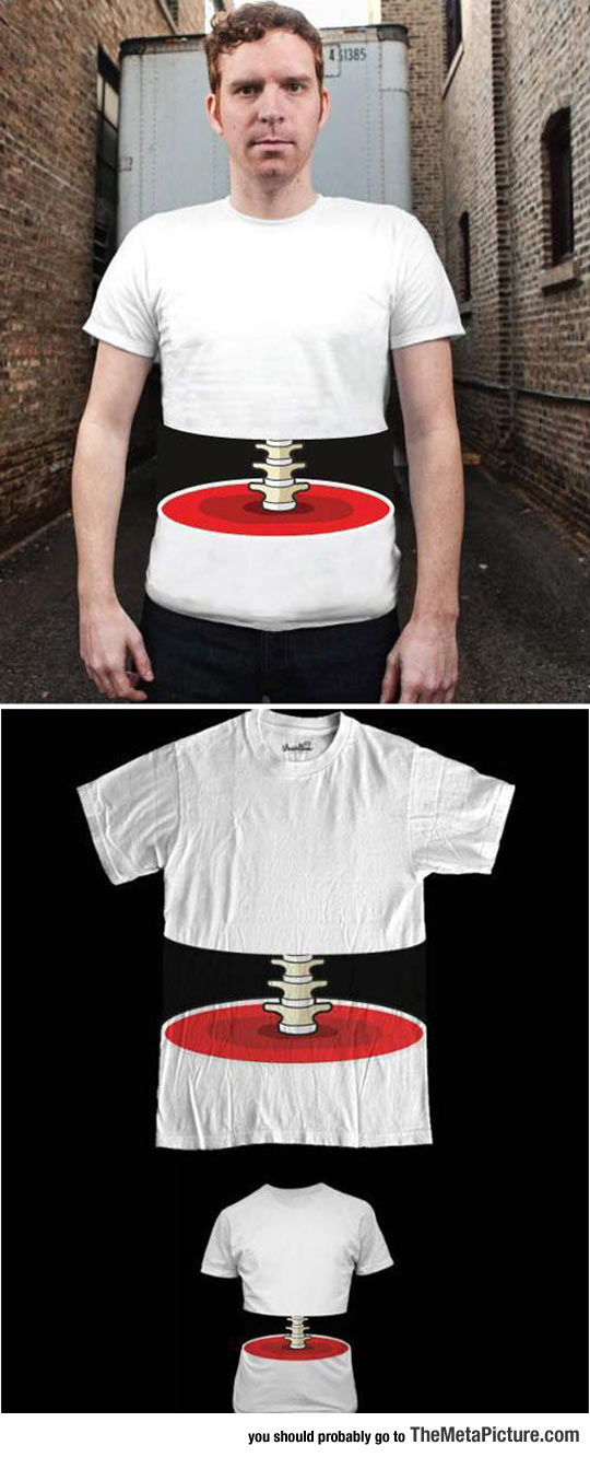 This Shirt Freaked Me Out A Bit