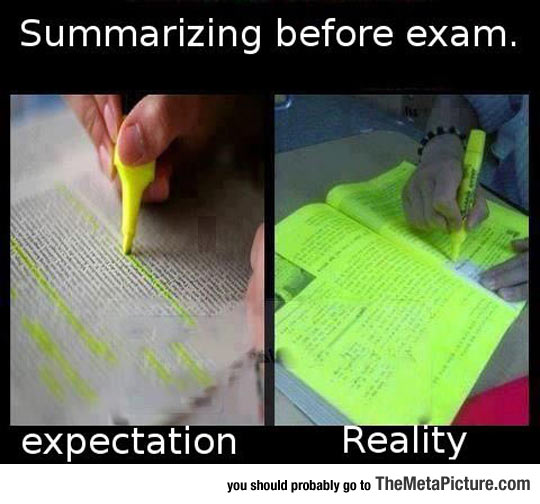 Every Time I Summarize