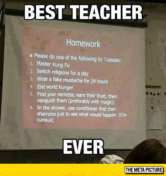 The Best Teacher
