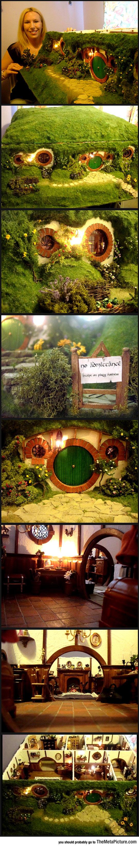 Ever Seen A Hobbit Dollhouse?