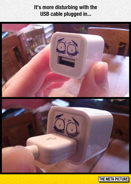 funny-USB-charger-face-plug