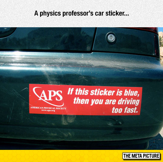 funny-car-sticker-red-blue-driving-too-fast-physics