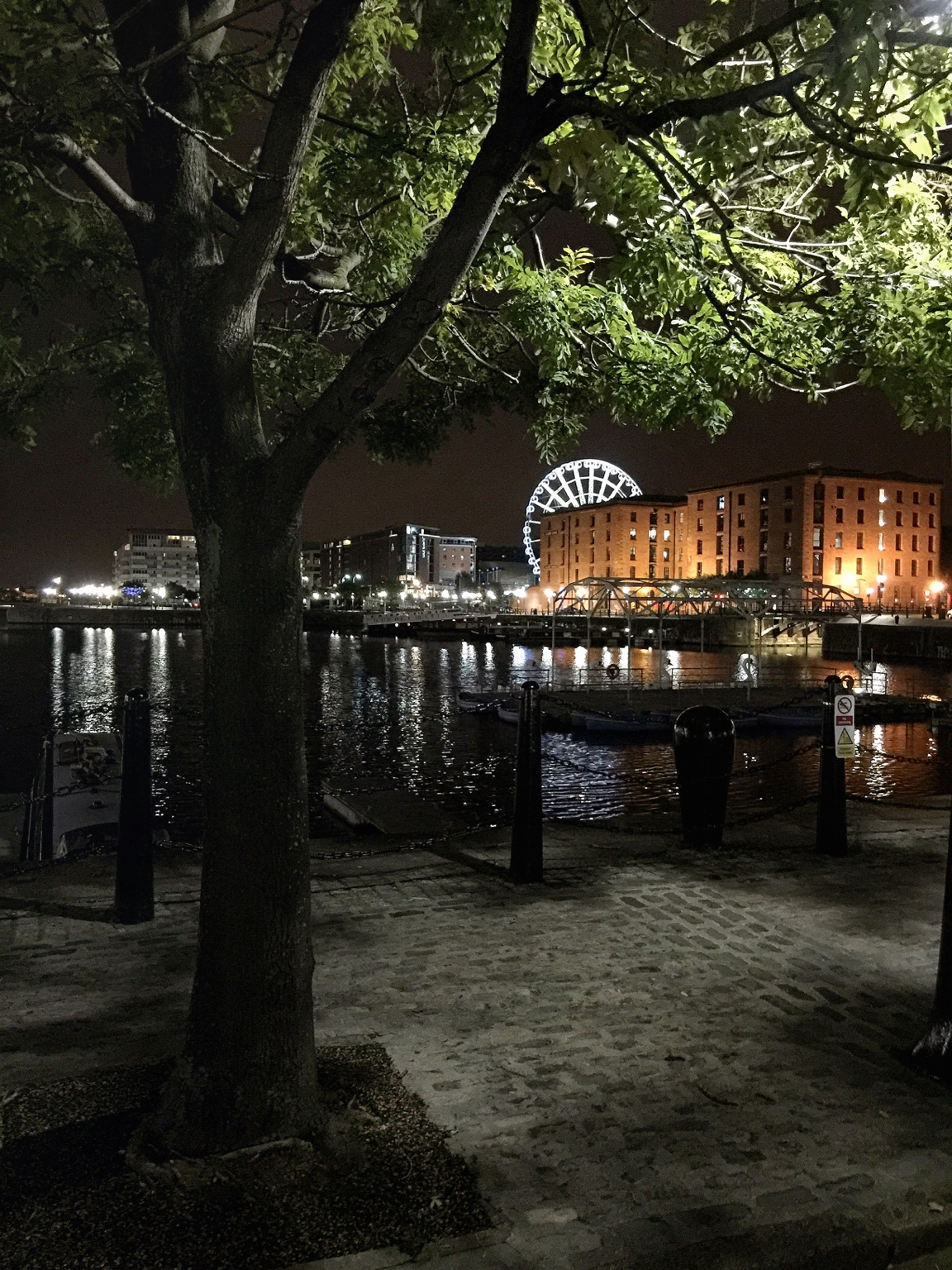 living in a city as beautiful as Liverpool.