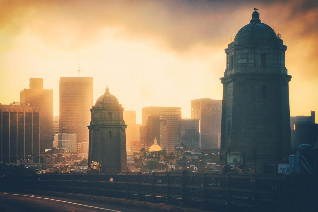 Boston from the Longfellow Bridge