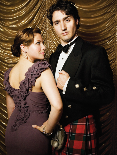 Canada's new Prime Minister and the First Lady