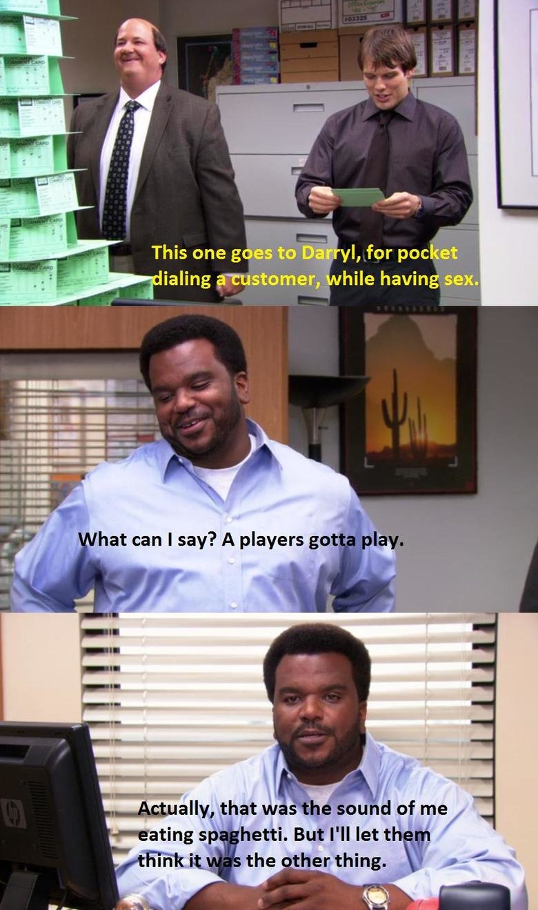 Chase your dreams, Darryl.