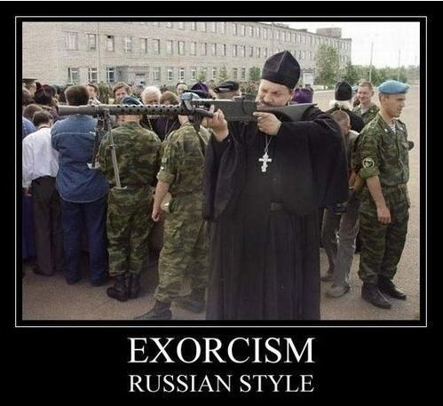 EXORCISM RUSSIAN STYLE.
