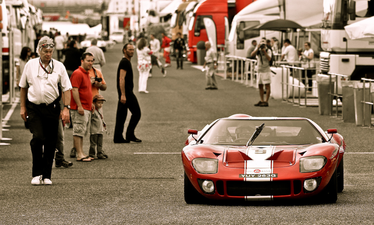 Here's an actual Ford GT-40 from 1966.