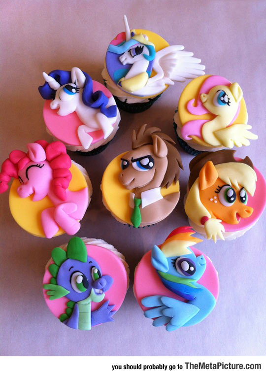 My Little Pony Cupcakes Win