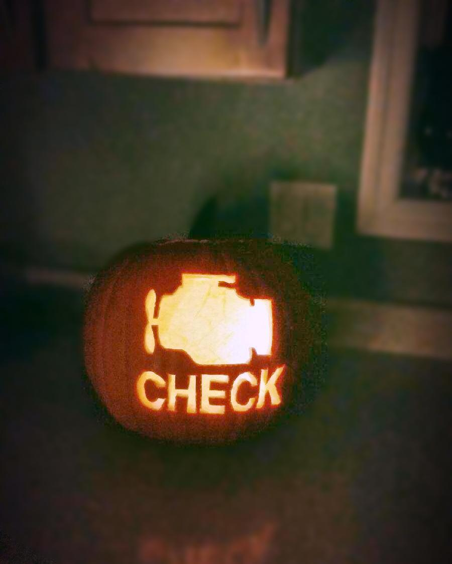 One of the scariest pumpkins I've seen yet