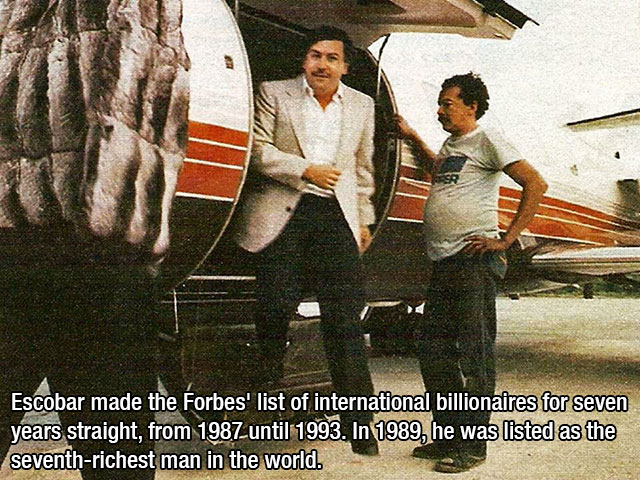 Pablo Escobar was a bad bad man, but damn was he ever interesting.