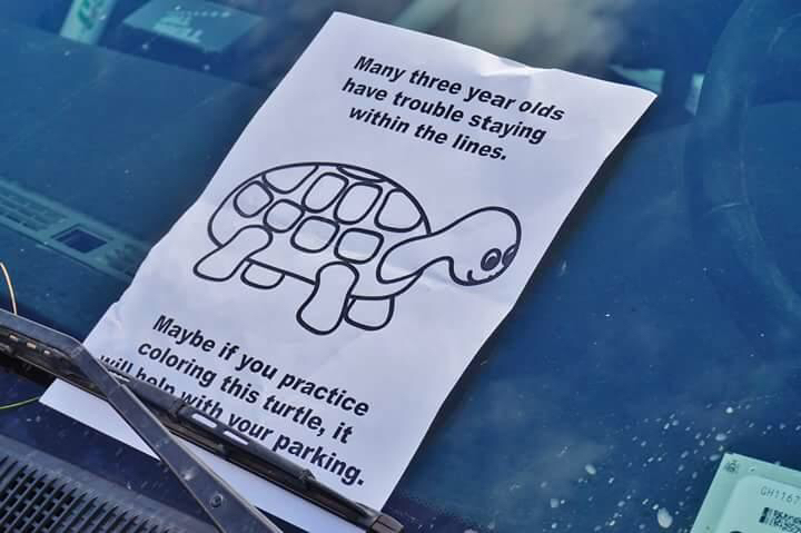 Parking advice