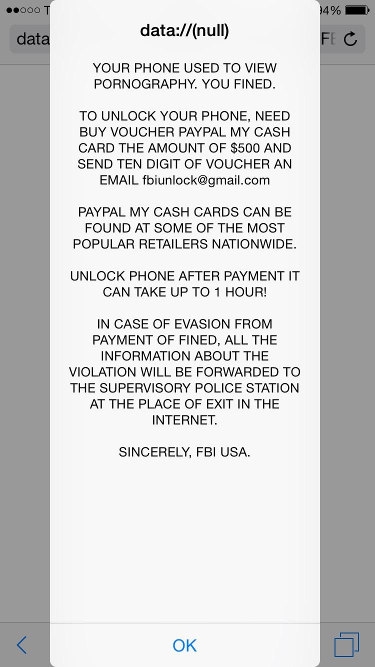 Sincerely, FBI USA