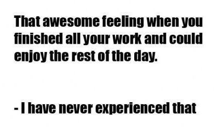 THAT AWESOME FEELING...