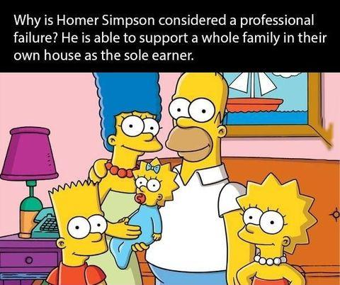 WE LAUGH AT HOMER, BUT LET'S TAKE A MOMENT TO RESPECT HIM