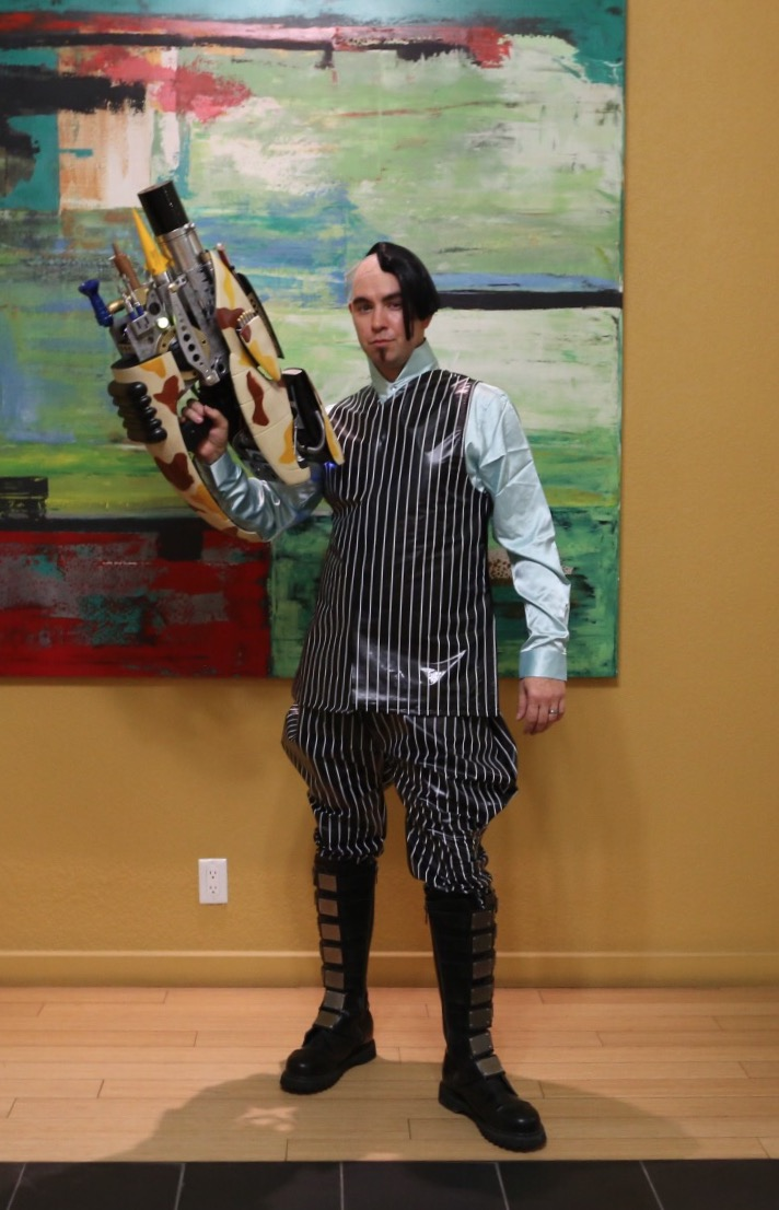 Zorg costume is extremely on point