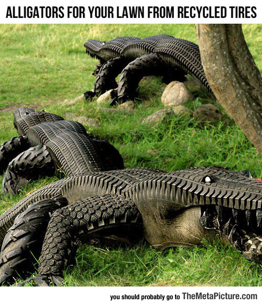 From Recycled Tires