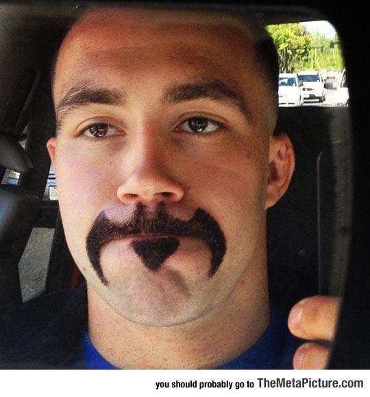 The Moustache That Gotham Pretty Much Deserves