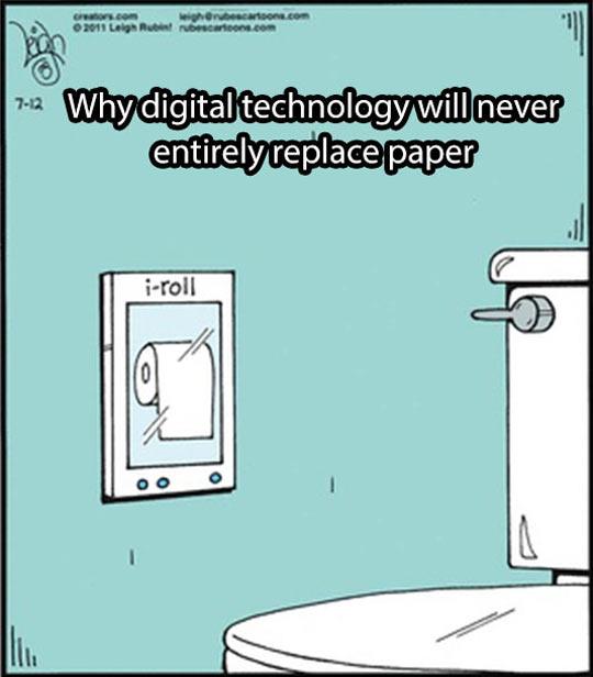 Digital Technology Vs. Paper