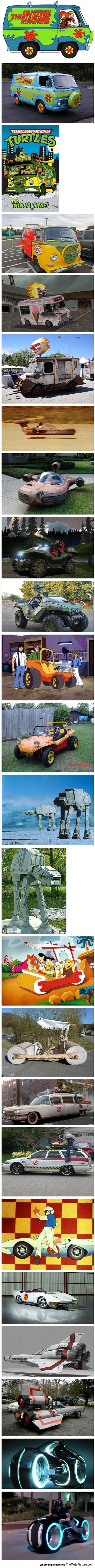 Fictional Vehicles In Real Life