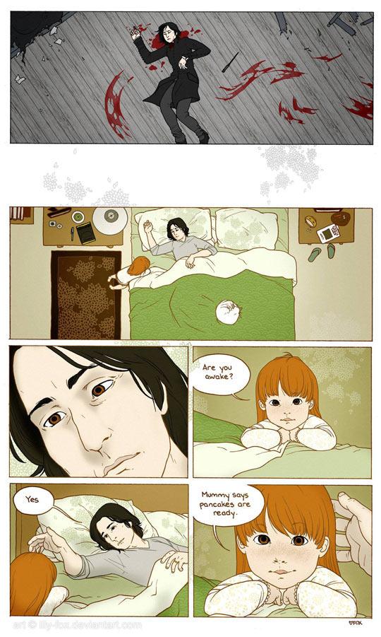 Severus Snape Finally Wakes Up