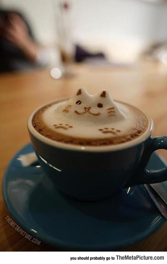 From Now On, My Coffee Must Be Served Like This