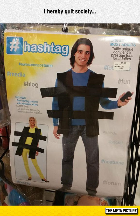 cool-hashtag-costume-Twitter