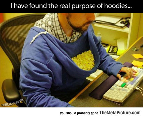 Proper Way To Use A Hoodie