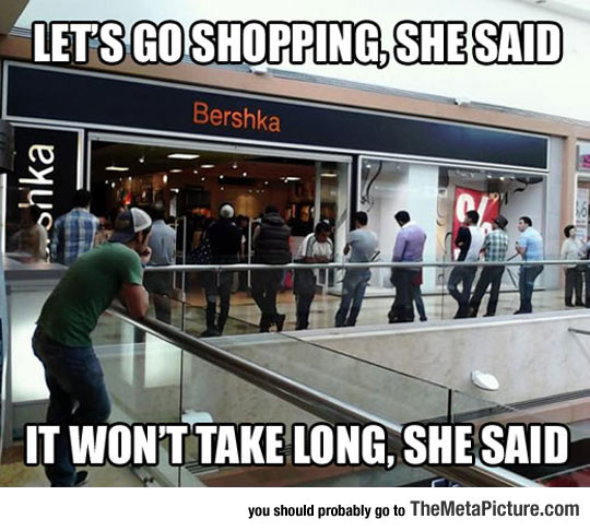 When Women Decide To Go Shopping