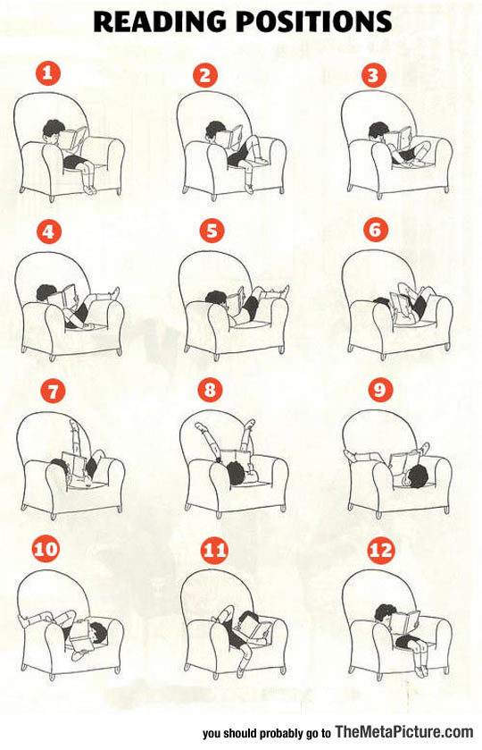 The Many Reading Positions