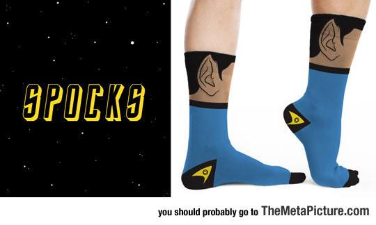 cool-socks-Spock-ears-blue