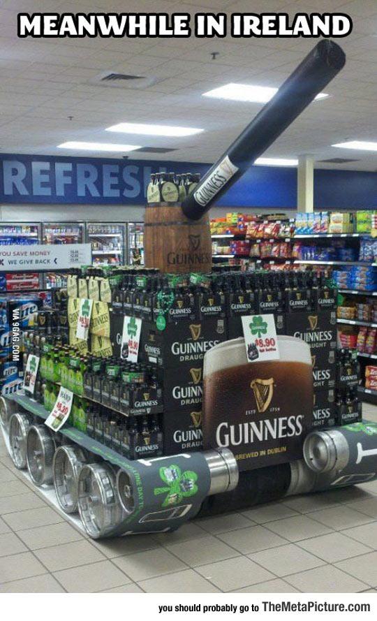 cool-tank-Guinness-beer-supermarket