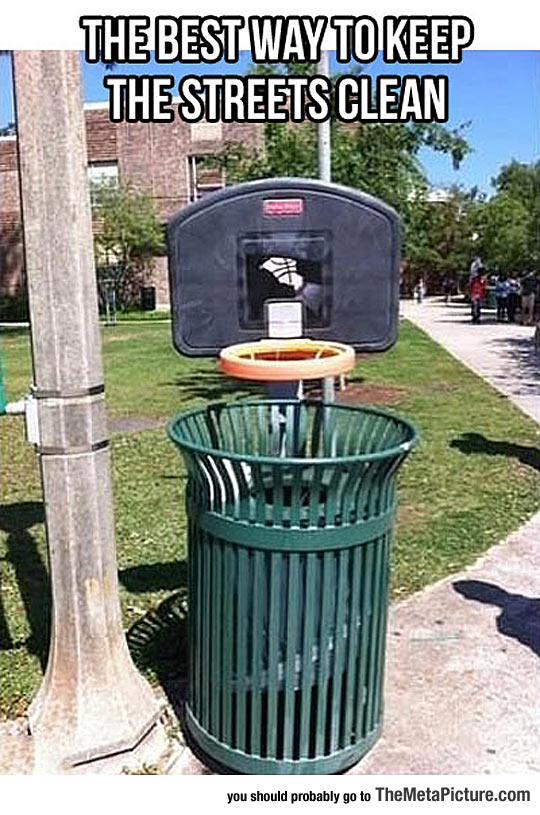 No More Trash On The Streets Ever Again