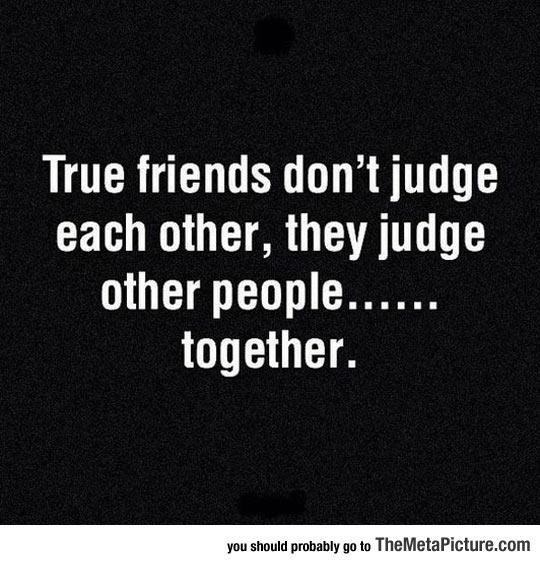 What True Friends Do
