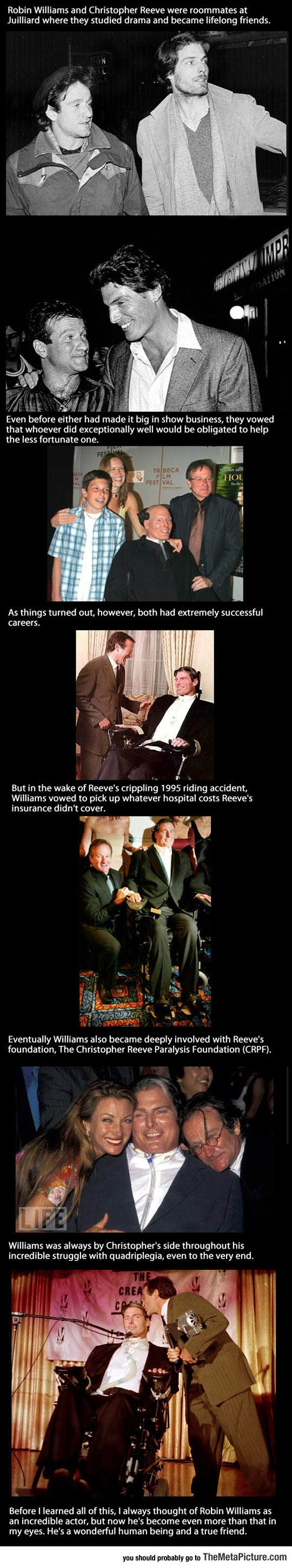 Robin Williams Was A True Best Friend
