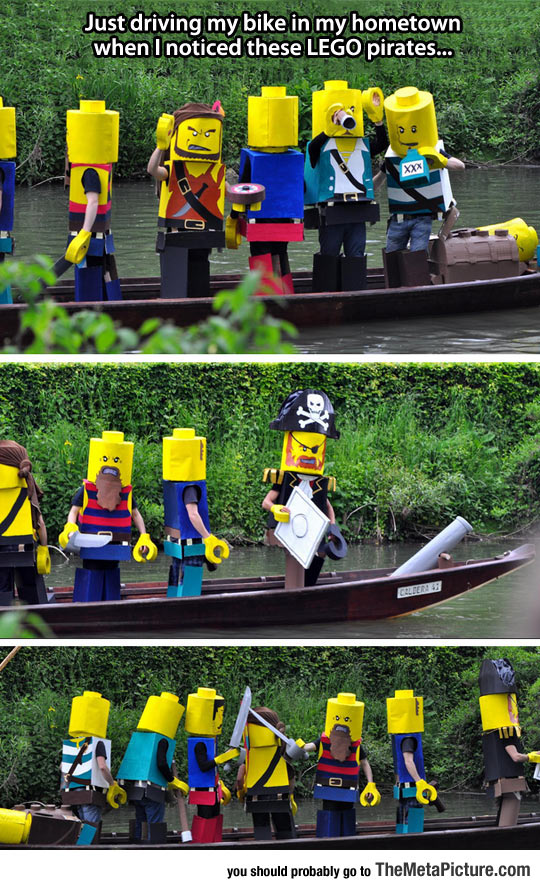 LEGO Pirates On A Mission